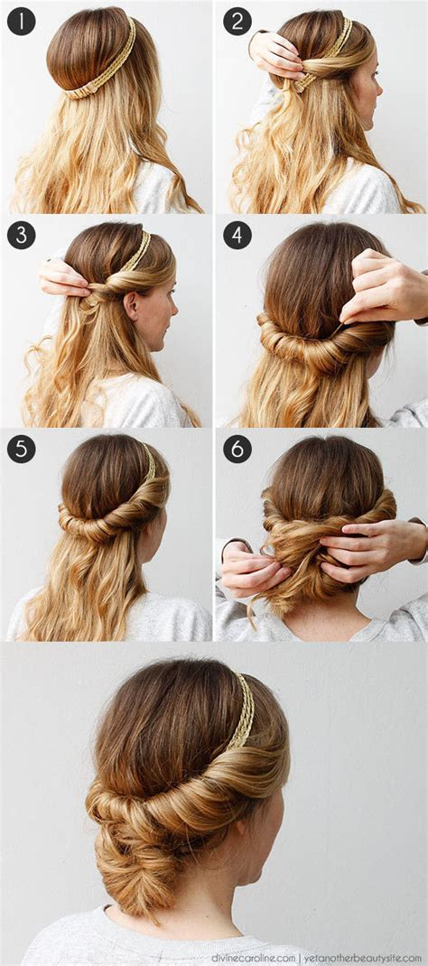 easy hairstyles  women whove   time