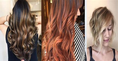 Every Hair Colour by 70 Balayage Highlights Ideas For Every Hair Color Hairs