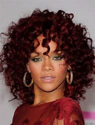Dark Red Hair Color On Black Women