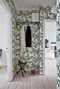Tendance Papier Peint Couloir : du vert dans la d co papier peint pinterest maison et appartement papier peint et ~ Melissatoandfro.com Idées de Décoration