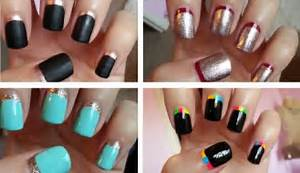 How to do easy nail art manicure designs that you never