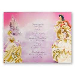 wedding shower disney all the bridal shower invitation invitations by
