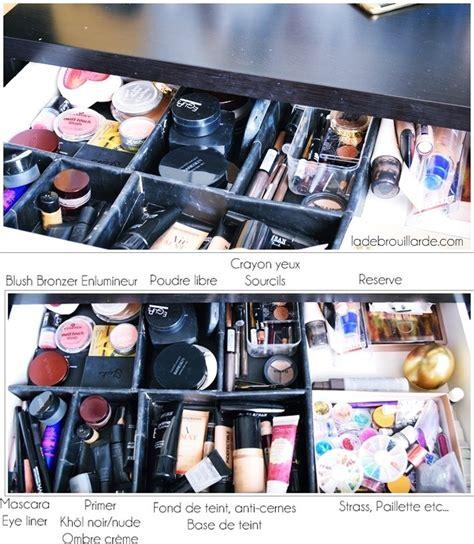 comment organiser rangement maquillage 224 petit prix diy