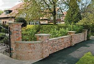 Brickwork - Garden Walls, Retaining Walls, Boundary Walls