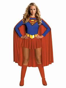 Super Hero Woman Supergirl Fancy Costume + Boot Covers | eBay