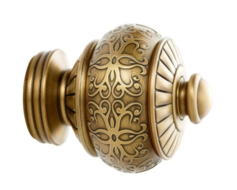 kirsch cheyenne finial for 1 3 8 inch drapery rods at