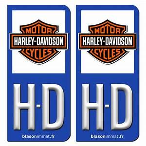Ou Trouver Des Autocollants Pour Plaque D Immatriculation : plaque d 39 immatriculation et sticker hd harley davidson blason ~ Gottalentnigeria.com Avis de Voitures