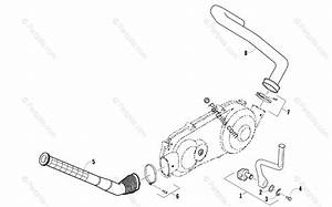 Arctic Cat Atv 2011 Oem Parts Diagram For Kick Starter And