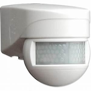 Camera Detecteur De Mouvement Exterieur : senzor pohybov 180 ip54 pir no biela luxomat lc mini 180 b e g elektroin tala n ~ Nature-et-papiers.com Idées de Décoration