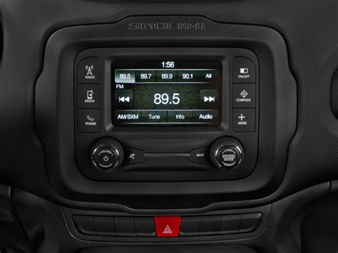 image  jeep renegade latitude fwd audio system size