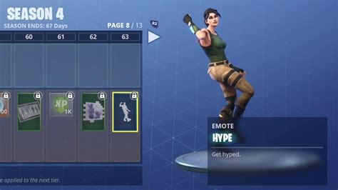 fortnite hype dance  hour youtube