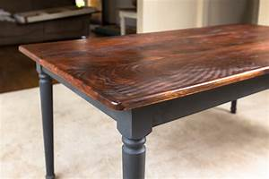 Handmade Rustic Dining Table Farm Kitchen Table Primitive