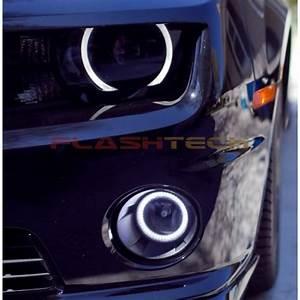 Chevy Camaro White Led Halo Fog Light Kit  2010