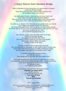 the rainbow bridge poem for cats rainbow bridge poem by brent atwaterrainbow bridge poems