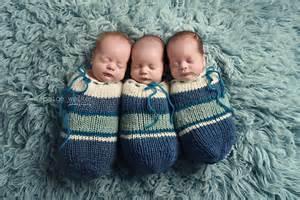 Newborn Triplets Photography