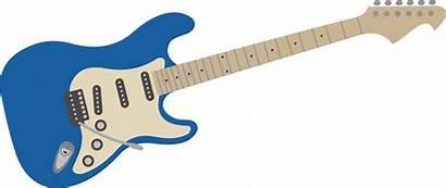 Guitar Electric Clipart Svg Transparent Fender Clip