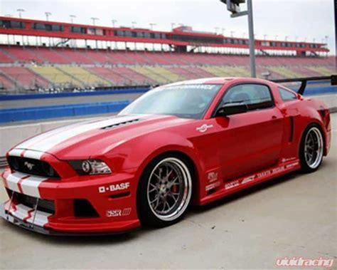 2013-14 Ford Mustang 5.0 Gt Widebody Aerodynamic Kit Apr
