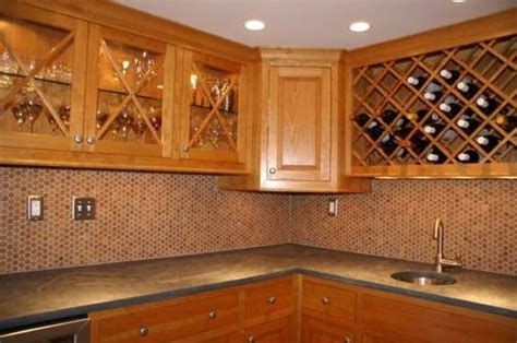 cork mosaic tile  floors walls bathroom kitchen
