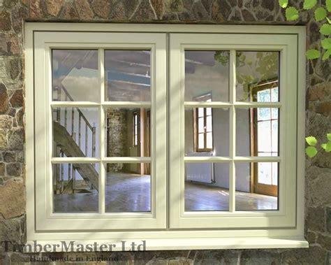 Flush, Double Casement, Painted Window