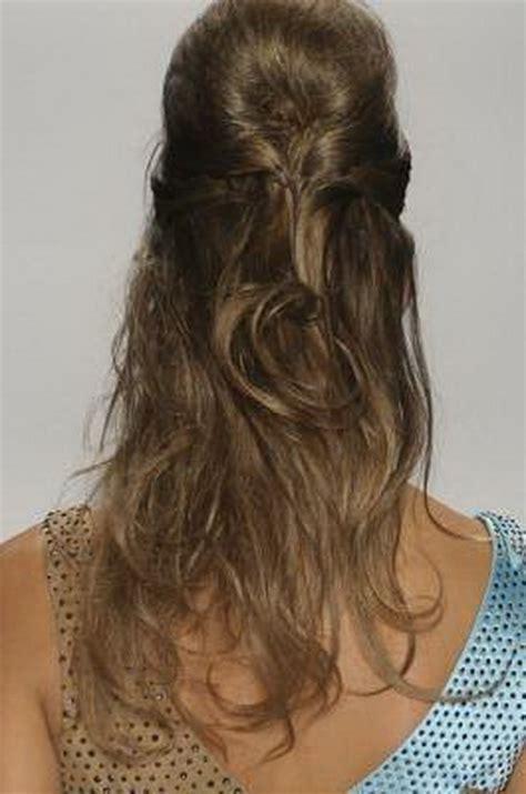 raccolti  capelli lunghi