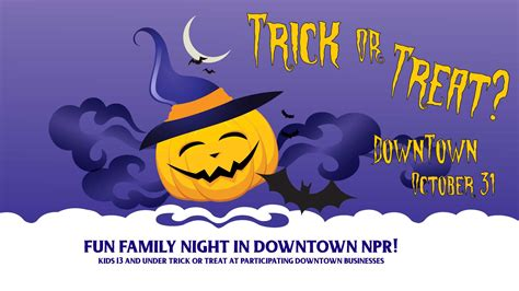 Rock The Boat Productions by Trick Or Treat Downtown Npr Rock The Boat Productions