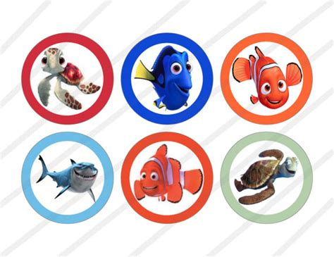 27 Images Of Finding Nemo Blank Template Unemeufcom