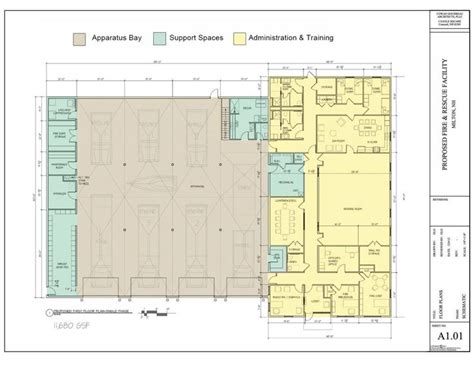 fire station plan fire station pinterest architecture