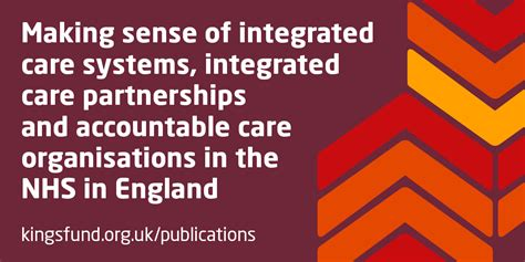 making sense  integrated care systems integrated care