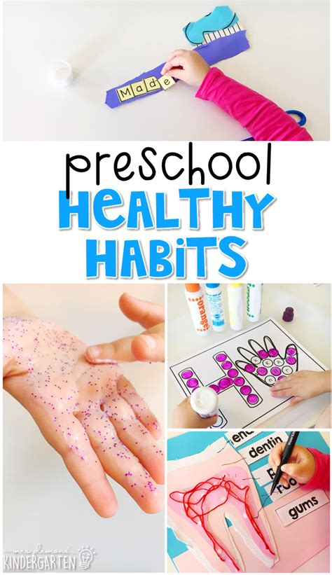healthy habits for preschoolers preschool healthy habits mrs plemons kindergarten 469