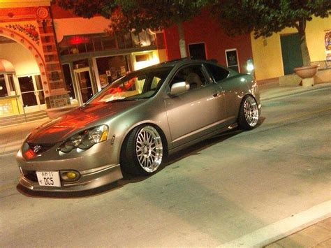 silver rsx with chrome rims rpm city