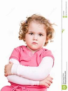 Angry Little Girl Stock Photo - Image: 14780060