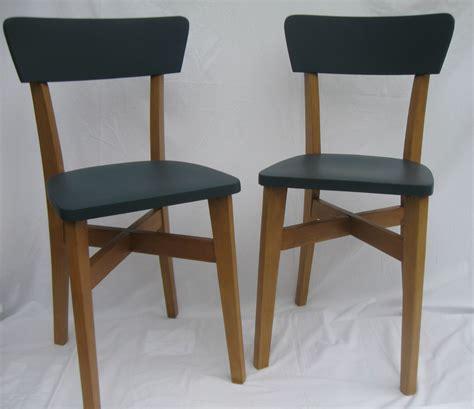 cuisine formica vintage chaises bistrot ées 50 relookées relook 39 vintage