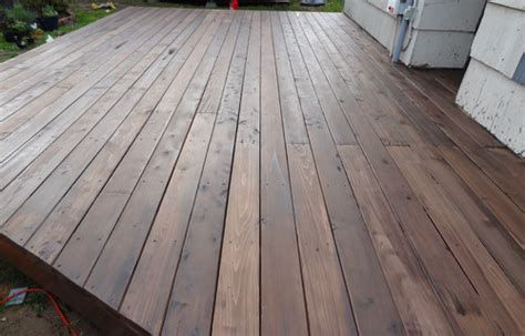 Behr Premium Deck Stain Application by How To Build A Beautiful Platform Deck In A Weekend Semi