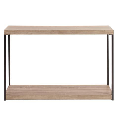 wood metal console table wood metal console table howard elliott
