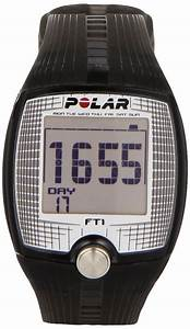 New Polar Watch Mens Ft1 Black Digital Heart Rate Monitor