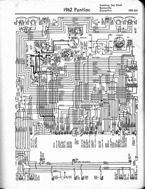 auto wiring diagram  pontiac catalina star