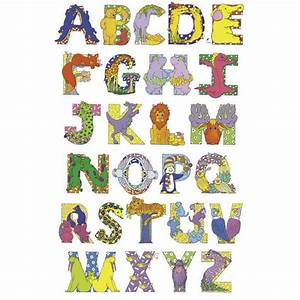 lettering for poster alphabet cartoon letters art With alphabet letter art prints