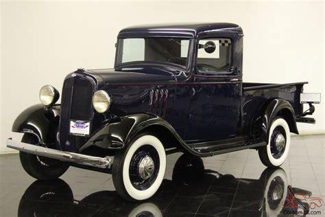 1934 Chevrolet Db Master Closed Cab Half Ton Pickup