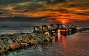 Sunset, Wallpaper