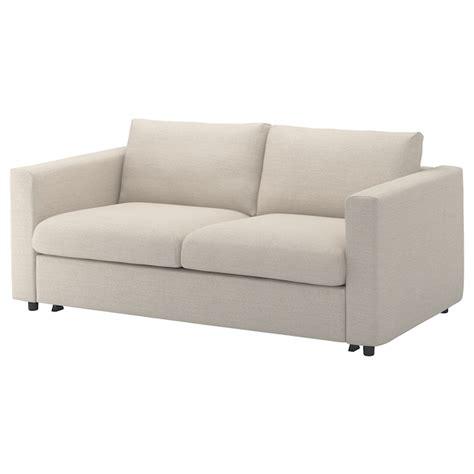 vimle  seat sofa bed gunnared beige ikea