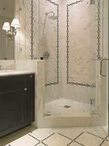 Corner Shower - Transitional - bathroom - SDG Architects