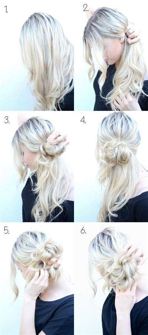 Easy Updo Hairstyle Tutorials by 10 Easy Updo Hairstyles Tutorials Popular Haircuts