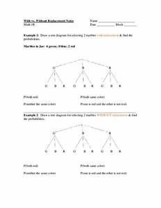 Tree Diagrams Worksheet For 7th