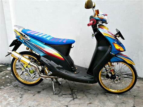 Mio J Thailook Style by Modifikasi Motor Mio Sporty Thailook Pecinta Modifikasi