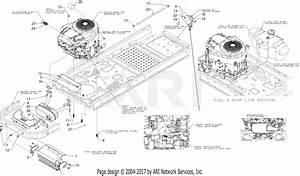 Troy Bilt 17cdcacw066 Mustang Xp 54  2019  Parts Diagram
