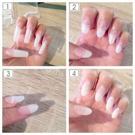 gel fingernägel selber machen k 252 nstliche n 228 gel ohne gel n 228 gel k 252 nstliche fingern 228 gel