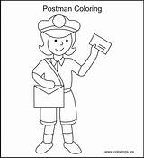 Coloring Office Mail Mailman Colorings Printable Books Ws Professional Google Craft Person Popular Colors Disney sketch template