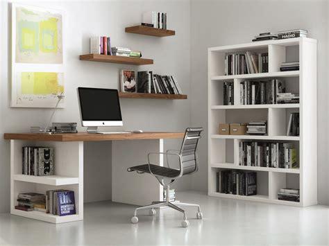 bureau avec etageres bureau design avec pieds étagères multi noyer 180 cm