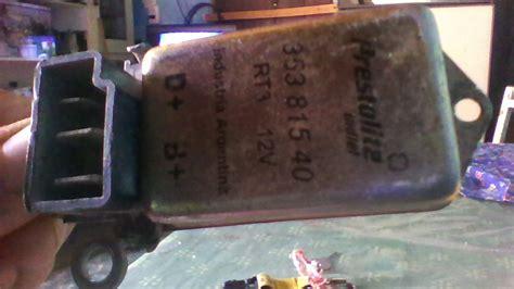 adaptar un regulador de voltage externo al alternador yoreparo
