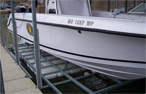 Front Mount Boat Lift For Sale by Boat Lift Sales Boat Hoist Sales Camdenton Mo